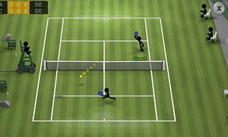 Stickman Tennis скриншот 2