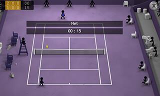 Stickman Tennis скриншот 3
