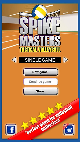 Spike Masters Volleyball скриншот 2