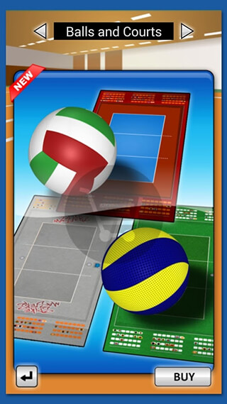 Spike Masters Volleyball скриншот 4