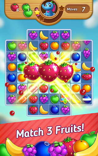 Fruits Mania: Elly's Travel скриншот 1