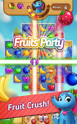 Fruits Mania: Elly's Travel скриншот 2