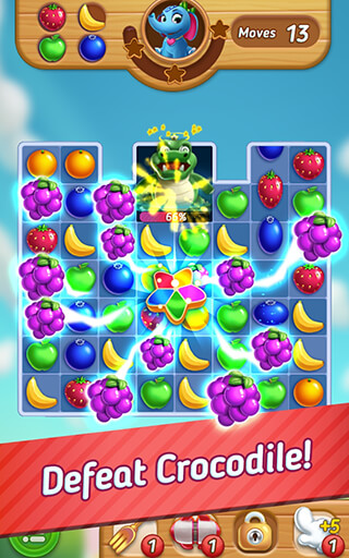 Fruits Mania: Elly's Travel скриншот 3