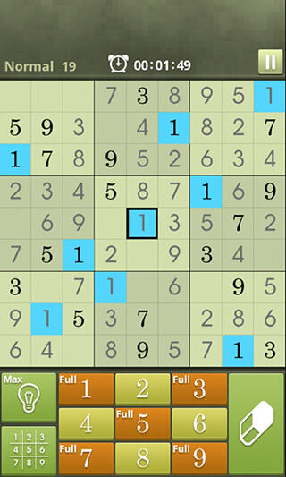 Sudoku World скриншот 1