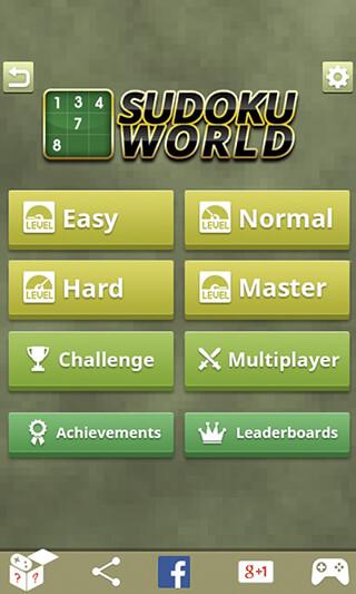 Sudoku World скриншот 4
