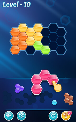 Block Hexa Puzzle скриншот 1