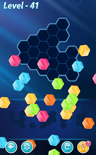 Block Hexa Puzzle скриншот 2