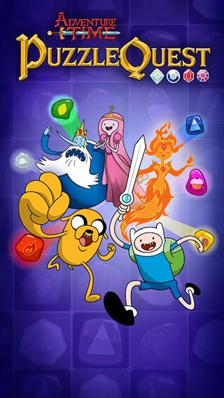 Adventure Time Puzzle Quest скриншот 1