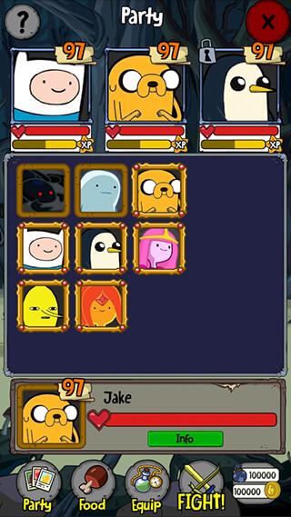 Adventure Time Puzzle Quest скриншот 3