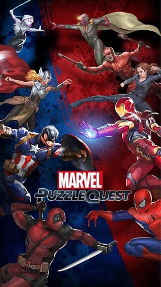 Marvel Puzzle Quest скриншот 1