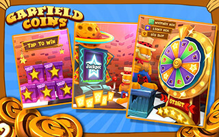 Garfield Coins скриншот 3