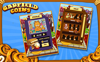Garfield Coins скриншот 4