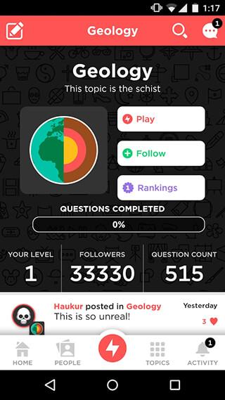 Quizup скриншот 1