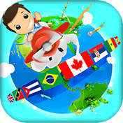 Geography Quiz Game 3D иконка