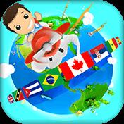Geography Quiz Game 3D иконка