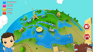 Geography Quiz Game 3D скриншот 2