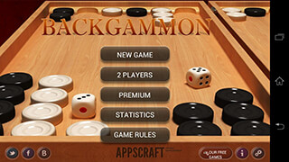 Backgammon скриншот 1