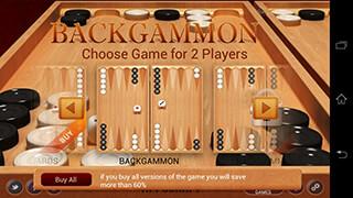 Backgammon скриншот 2