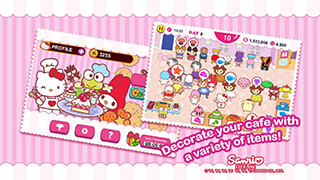 Hello Kitty Cafe скриншот 3