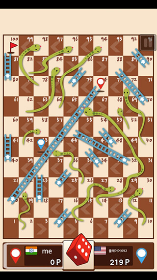 Snakes and Ladders: King скриншот 1
