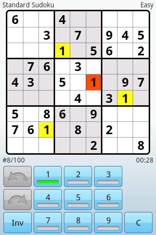 Super Sudoku скриншот 1