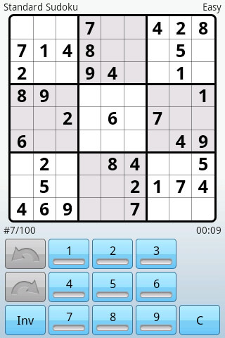 Super Sudoku скриншот 2