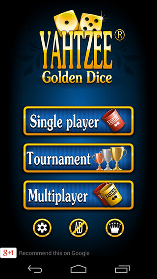 Yatzy Dice Game скриншот 1