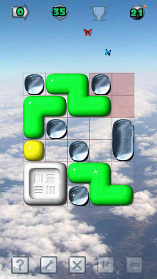 Sticky Blocks: Sliding Puzzle скриншот 1