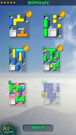 Sticky Blocks: Sliding Puzzle скриншот 3