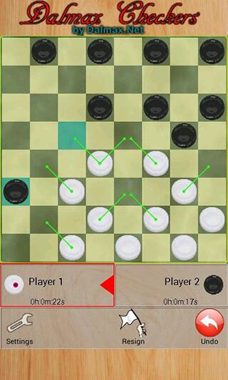 Checkers By Dalmax скриншот 1