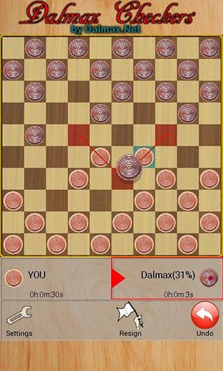 Checkers By Dalmax скриншот 3