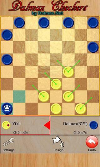 Checkers By Dalmax скриншот 4