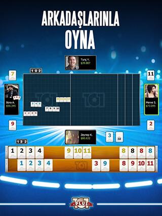 101 Yuzbir Okey Plus скриншот 3