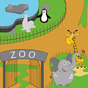 Trip To The Zoo: For Kids иконка