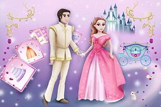 Cinderella: Games For Girls скриншот 1