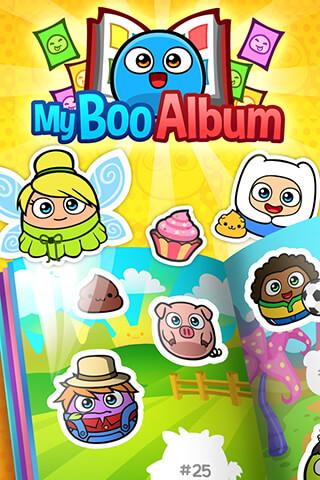 My Boo Album: Sticker Book скриншот 1