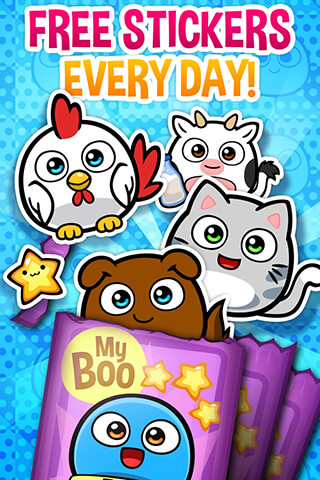 My Boo Album: Sticker Book скриншот 2
