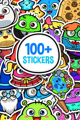 My Boo Album: Sticker Book скриншот 4