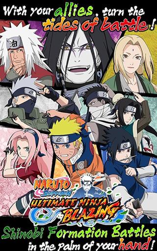 Naruto: Ultimate Ninja Blazing скриншот 1