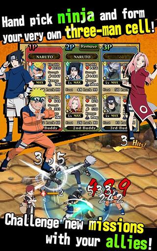 Naruto: Ultimate Ninja Blazing скриншот 3