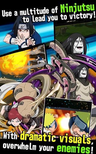 Naruto: Ultimate Ninja Blazing скриншот 4
