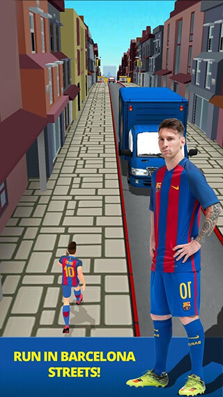 FC Barcelona: Ultimate Rush скриншот 4