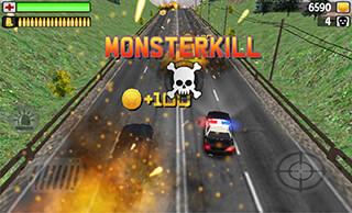 Police: Monsterkill 3D скриншот 2