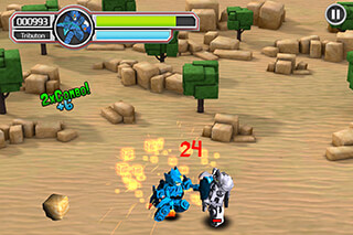 Tenkai Knights скриншот 2