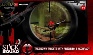Stick Squad: Sniper Contracts скриншот 3
