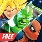 Superheros: Free Fighting Games иконка