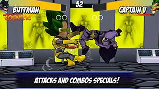 Superheros: Free Fighting Games скриншот 2