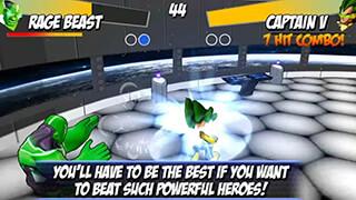 Superheros: Free Fighting Games скриншот 3