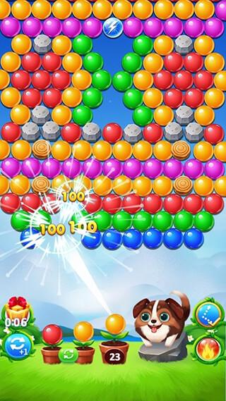 Bubble Shooter скриншот 1