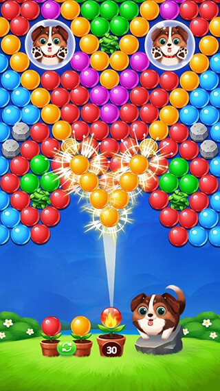 Bubble Shooter скриншот 2
